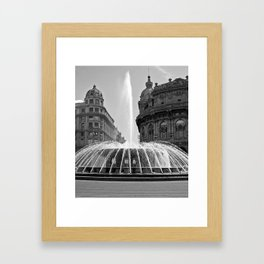 Genoa Framed Art Print