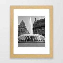 Genoa Framed Art Print