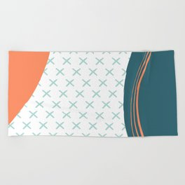 Nothing is impossible Beach Towel