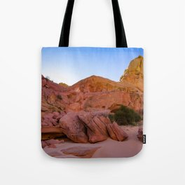 Colorful Sandstone, Valley of Fire - III Tote Bag