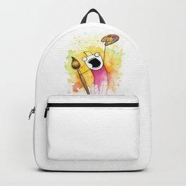 Meme Painting Backpack
