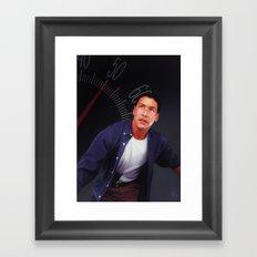 50mph Framed Art Print