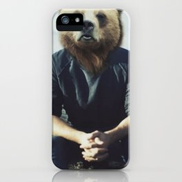 Bear Brains iPhone Case