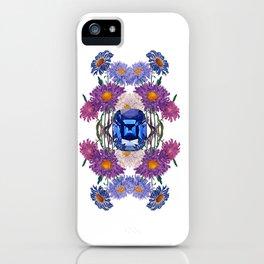 Birth Stone & Flower/SEPTEMBER iPhone Case