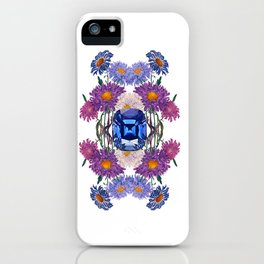 Birth Stone & Flower/SEPTEMBER iPhone Case