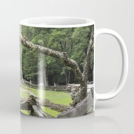 The Oliver Cabin in Cade's Cove in the Great Smokey Mountains Coffee Mug