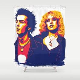 Sid & Nancy Shower Curtain