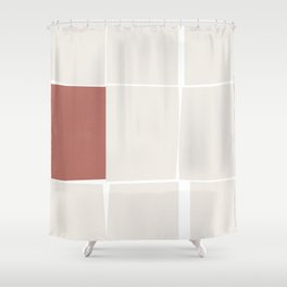 Minimal 11 Shower Curtain