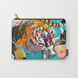 Hunting tiger Carry-All Pouch