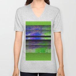 Green Color Blinds Unisex V-Neck