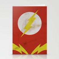 the flash Stationery Cards featuring Flash by JHTY
