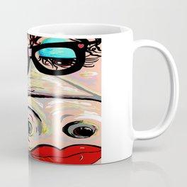 Hipster Pig Coffee Mug