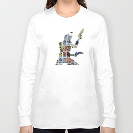 Cut StarWars Collage 9 Long Sleeve T-shirt