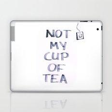 Not my Cup of Tea Laptop & iPad Skin