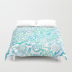 A Profusion of Flowers II Duvet Cover
