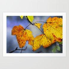 Sweet autumn Art Print