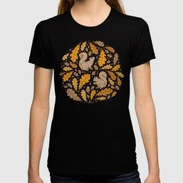 Oak & Squirrels | Autumn Yellows Palette T-shirt