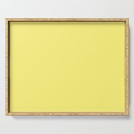 Dunn & Edwards 2019 Trending Colors Chickadee (Bright Yellow) DE5403 Solid Color Serving Tray
