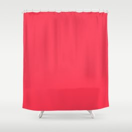 Evanescent Beauty ~ Bright Rose Pink Shower Curtain