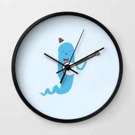 Ghost and Banjo Wall Clock