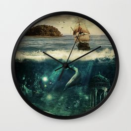 WATER WORLD Wall Clock