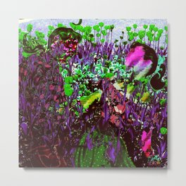 Depths of the Flower Beds Metal Print
