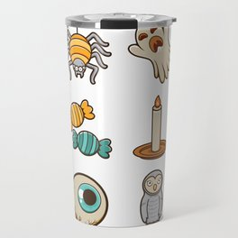 Halloween Icons Travel Mug