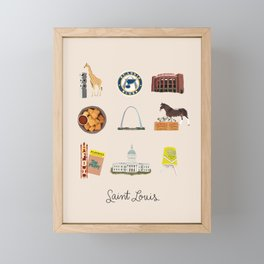 Saint Louis Framed Mini Art Print