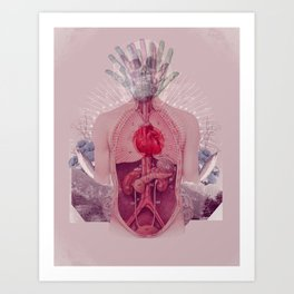 sacred body Art Print