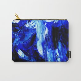 Dancing In Blue No. 1 by Kathy Morton Stanion Carry-All Pouch