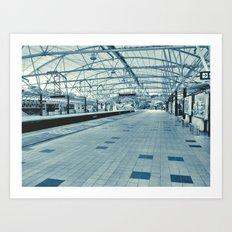 LRT Station  Art Print