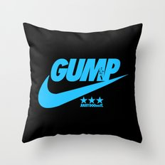 Gump- JustDoIt IV Throw Pillow