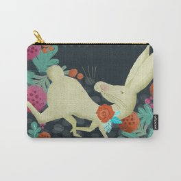 A Hare in The Forest Carry-All Pouch