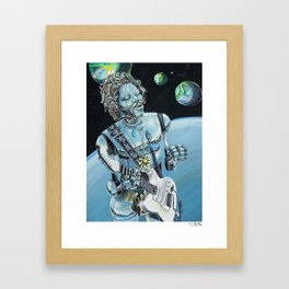 Floataciousgroovy Framed Art Print