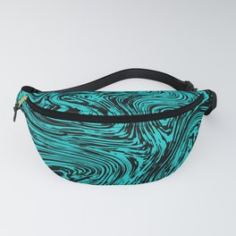 Marble pattern sea wave Fanny Pack