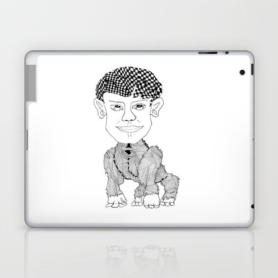 Monkey Boy Laptop & iPad Skin