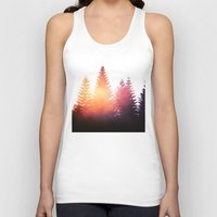 morning Tank Tops featuring Morning Glory by Tordis Kayma