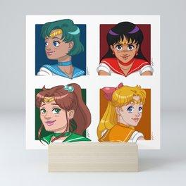 Sailor Scouts Mini Art Print
