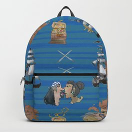 Celebration on Board - Dark Blue Backpack