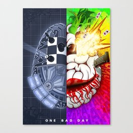 One Bad Day Canvas Print