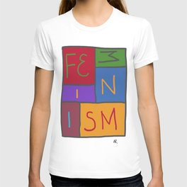 Intersectional Feminism In Colour T-shirt