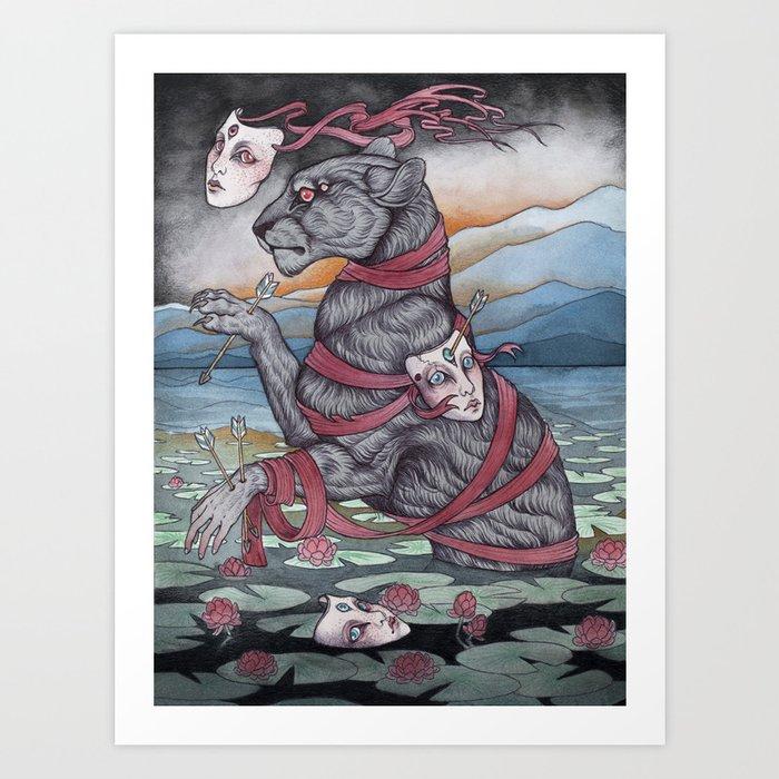 The Wandering Mystic Art Print