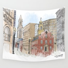 The Old State House Wall Tapestry