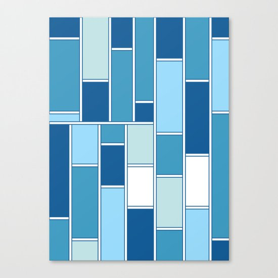 Boxed in Canvas Print