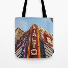 Los Angeles Rialto Theatre Tote Bag