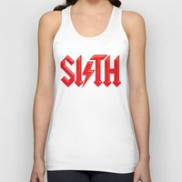 sith Tank Tops featuring SITH by Daniel Sotomayor