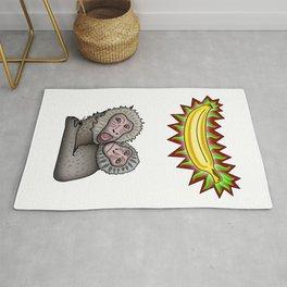 La gran banana Rug