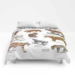 Wildcats of North America Comforters