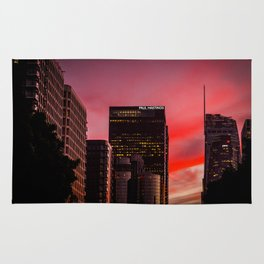 Skyscapes in Los Angeles Rug