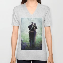 In your arms Unisex V-Neck